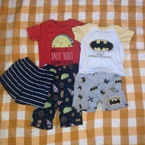 12 month pajama bundle